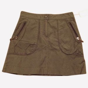 NWT H&M Army Green Skirt